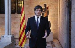 Puigdemont emprèn a Brussel·les el seu primer viatge oficial a l'estranger (GENERALITAT/J.BEDMAR)