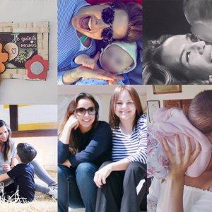 ¡Feliz Día de la Madre! Paula Echevarría, Irene Rosales, Tamara Gorro y más
