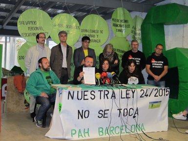 La PAH demana noves mesures legislatives davant el recurs al TC de la Llei de pobresa energètica (EUROPA PRESS)