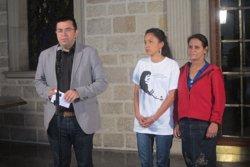 Pisarello exigeix investigar l'assassinat de l'activista hondurenya Berta Cáceres i es reuneix amb la seva filla (EUROPA PRESS)
