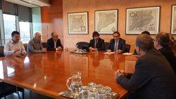 El Govern es reuneix amb alcaldes del Vallès Oriental per