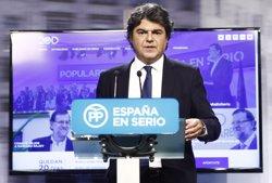 Jorge Moragas serà altre cop el director de campanya del PP per a les eleccions generals (EUROPA PRESS)