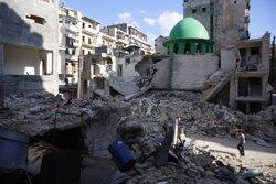Desenes de morts i ferits en un atac amb coets dels rebels contra un altre hospital a Alep (MARKUS PERKINS/AMNISTÍA INTERNACIONAL)