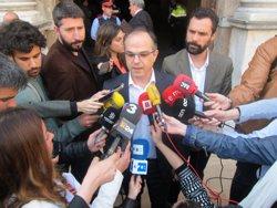 Turull (JxSí) advoca per tornar a aprovar la llei antinonaments recorreguda davant del TC (EUROPA PRESS)