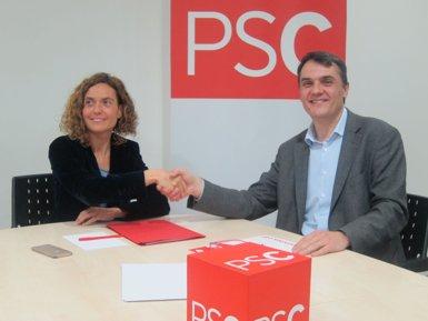 Batet serà la candidata del PSC després d'un pacte amb Martí que evita les primàries (EUROPA PRESS)