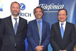 Zurich i Telefónica llancen una assegurança per protegir la vida digital de les famílies (TELEFÓNICA)