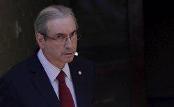 El Tribunal Suprem del Brasil aparta del càrrec el president de la Cambra de Diputats (UESLEI MARCELINO / REUTERS)