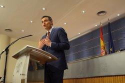 Pedro Sánchez (PSOE) acaba una visita de dos dies a la Val d'Aran (Lleida) (EUROPA PRESS)