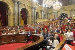 CDC i ERC es divideixen altre cop al Parlament en una votació sobre la reforma laboral (EUROPA PRESS)