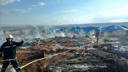 L'exèrcit sirià nega estar darrere del bombardeig contra un campament de desplaçats (TWITTER WHITE HELMETS)