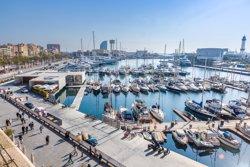 OneOcean Port Vell de Barcelona s'omple de grans iots per la F1 de Montmeló (MARINA PORT VELL)