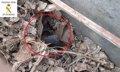 Descubren en Melilla a 15 menores magrebíes entre chatarras