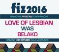 Love of Lesbian, WAS y Belako, primeros confirmados del FIZ 2016