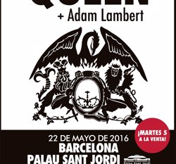 Queen i Adam Lambert actuaran aquest diumenge a Barcelona, única parada a Espanya (LIVE NATION)