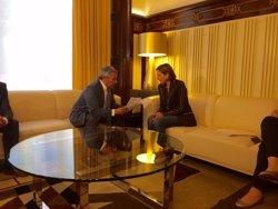 ACVOT exigeix a Forcadell que demani perdó a les víctimes per rebre Otegi i ella s'hi nega (EUROPA PRESS)