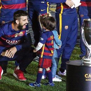 Milan Piqué, Gala Bartra... los verdaderos protagonistas de la celebración del FC Barcelona