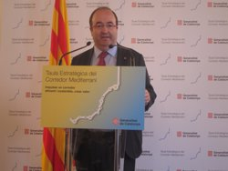 Iceta (PSC) defensa que el corredor ha de ser l'única xarxa que impulsi el Govern espanyol (EUROPA PRESS)