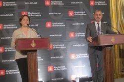 Colau i Collboni eviten valorar les paraules de Sánchez i insisteixen que l'acord és per Barcelona (EUROPA PRESS)