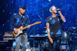 Coldplay porta 'A head of full dreams Tour' a l'Estadi Olímpic aquest dijous i divendres (DOMINIC LIPINSKI)