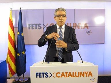 """Homs, sobre l'acord amb la CUP: """"De moment no està trencat, però hi ha interrogants"""" (EUROPA PRESS)"""