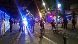 Barcelona xifra en 14.500 euros els danys en la tercera protesta pel Banc Expropiat (EUROPA PRESS)