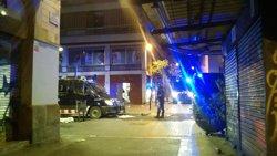 Jané lamenta els disturbis aquest dimecres a Gràcia i reitera el suport als Mossos (EUROPA PRESS)