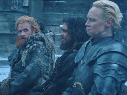 Juego de tronos: Así es la escena eliminada de Brienne y Tormund (HBO)