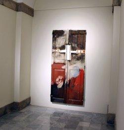 El Parlament deixa 'La porta' de Josep Guinovart per a una exposició (PARLAMENT)