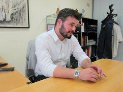 Rufián planteja actes de campanya conjunts ERC-CDC amb Puigdemont i Junqueras (EUROPA PRESS)