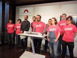 La CUP presentarà una esmena a la totalitat a la proposta de Pressupostos (EUROPA PRESS)