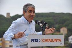 Homs demana que PP, PSOE i C's quedin