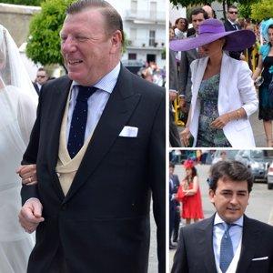 Francisco Rivera y Lourdes Montes no faltan a la boda de la hija de César Cadaval