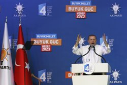 Erdogan acusa Rússia de subministrar armament als milicians del PKK (MURAD SEZER)