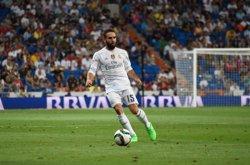 Carvajal pateix una lesió muscular i es podria perdre l'Eurocopa (EUROPA PRESS)