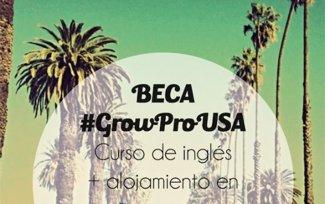 GrowPro Experience sortea una beca para estudiar inglés en California (GROWPRO)