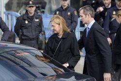 La Infanta haurà d'estar present en el judici des del 10 de juny (INFANTA CRISTINA E IÑAKI URDANGARIN/EUROPA PRESS)