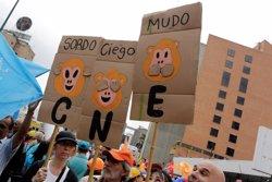 La MUD augura una sentencia del Supremo para neutralizar el revocatorio contra Maduro (MARCO BELL/REUTERS)