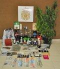 Detienen a 5 personas y desmantelan un punto de venta de droga en Gran Canaria