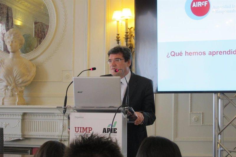 """AIReF avisa de que España aún tiene un """"problemas de credibilidad ..."""