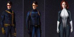 Así pudieron ser Mística y Cíclope en X-Men: Apocalypse (20 TH CENTURY FOX )
