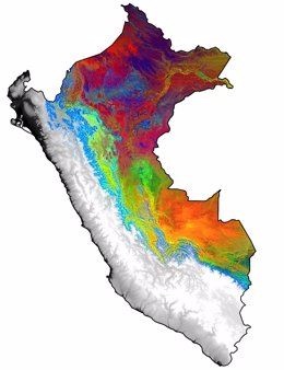Los Andes y el Amazonas albergan bosques de crecimiento 'transgresor' (GREG ASNER)