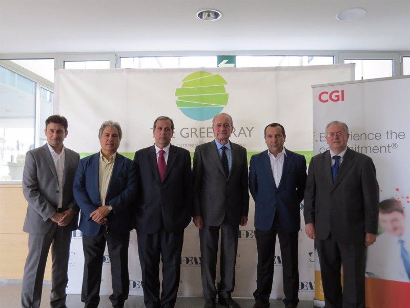 Cgi inaugura sus nuevas oficinas en el edificio the green ray for Oficina consumo pontevedra