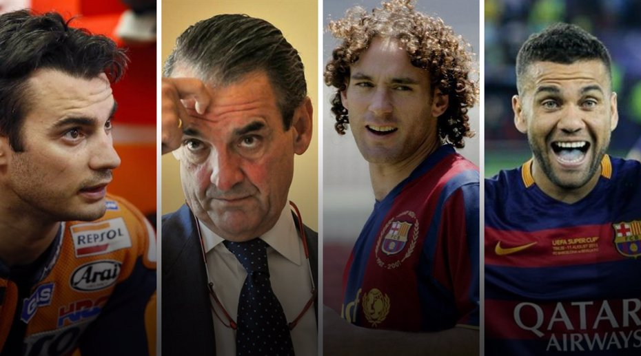 Foto: Pedrosa, Mario Conde, Gabi Milito y Dani Alves, en la lista de morosos de la Agencia Tributaria (EUROPA PRESS)