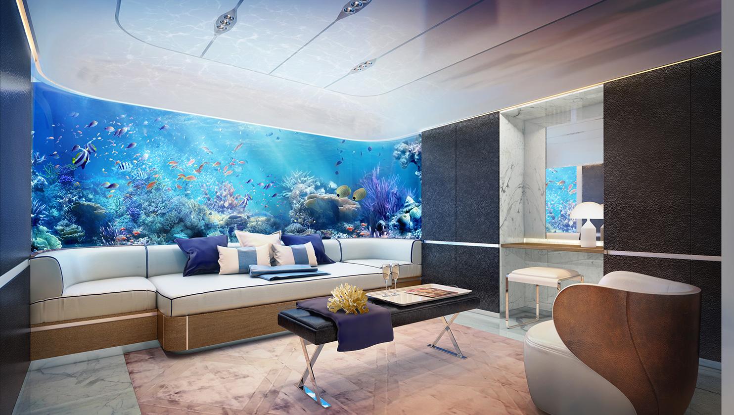 Vivir as en una casa debajo del mar esta se construye en for Como se llama el hotel que esta debajo del mar