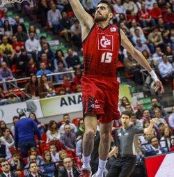 Joan Sastre, nou aler del València Basket per a les dues pròximes temporades (ELOY ESTEBAN CANTIN)