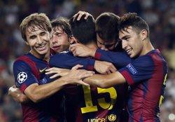 Munir i Samper renoven amb el Barcelona fins al 2019 (REUTERS)