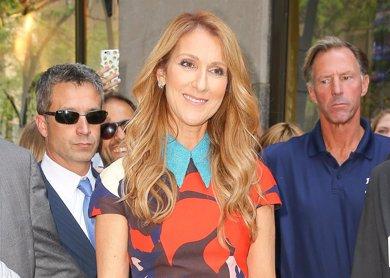 Celine Dion apuesta por la moda española