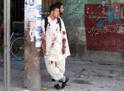 Afganistan.- Un mínim de 80 morts a l'atemptat contra la minoria hazara a Kabul, segons un nou balanç (OMAR SOBHANI / REUTERS)