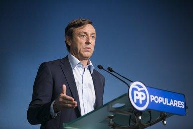 """Hernando (PP) adverteix que Rajoy no anirà a la investidura sense suports: """"Seria absurd"""" (TAREK/PP)"""