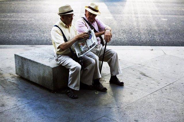 La hucha de las pensiones se va vaciando